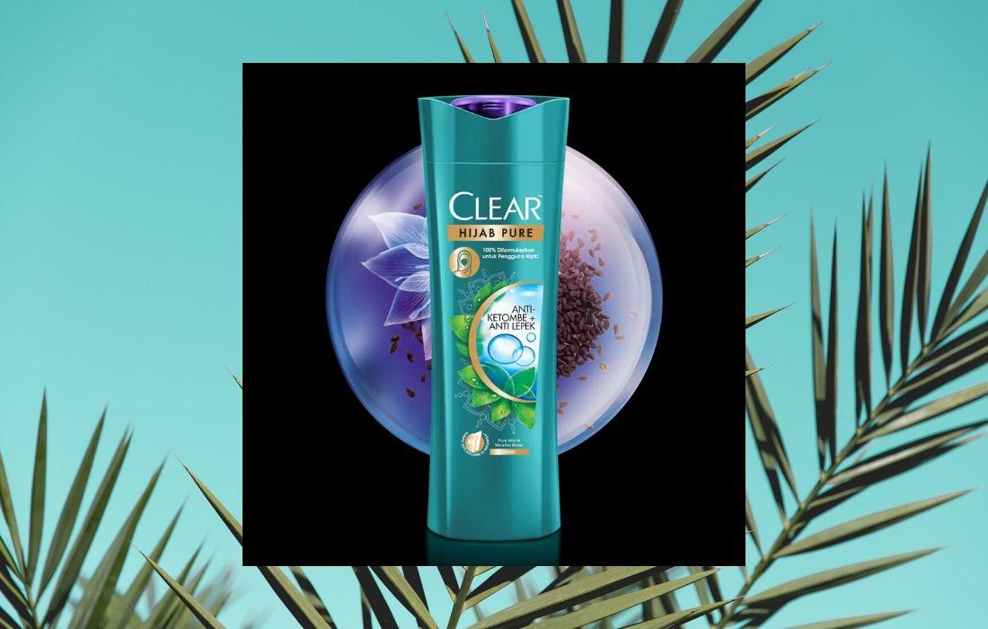 CLEAR x IKYK - CLEAR Hijab Pure Shampo Anti-Ketombe & Anti-Lepek