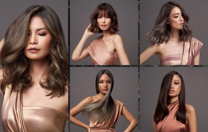 warna rambut perempuan Indonesia