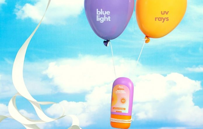 Sunscreen Blue Light